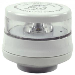 LED-Ankerlaterne GEMINI ohne Fuß Gehäusefarbe weiß – Bild 1