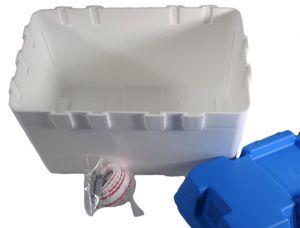 Batteriekasten Combi 324 x 184 x 207 weiß/blau – Bild 2