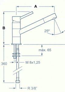 Einhebel - Mischarmatur 240 mm – Bild 2