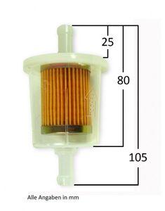Benzinfilter für Schlauch 10 mm – Bild 2