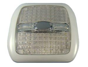 Deckenleuchte 96 LED weiß/blau mit Schalter – Bild 1