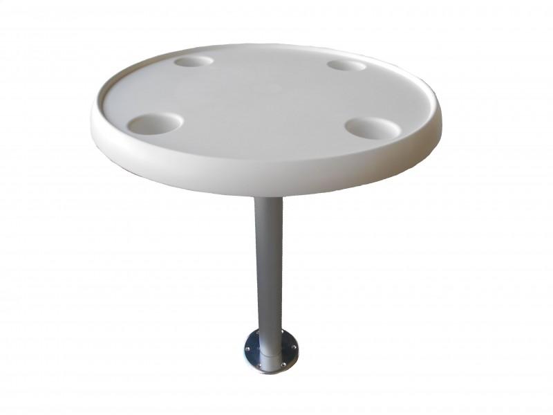 Runder tisch tischkompletset mit tischbein 80cm for Runder tisch mit marmorplatte