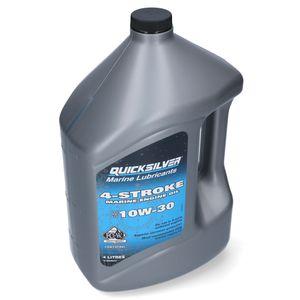 Quicksilver Performance 4-Takt Außenborder Öl 10 W-30 4L – Bild 1