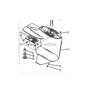Dichtring für Mercury & Mariner Außenbordmotoren – Bild 2
