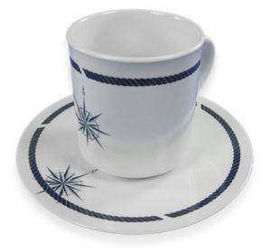 "Gr. Kaffeetassenset ""Ventum"" m. Unterteller – Bild 2"