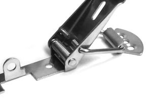 Hebelverschluss 55 mm x 33 mm abschließbar – Bild 2