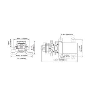 SEAFLO ® Druckwasserpumpe 3,8 Ltr. /Min. 12 V – Bild 9