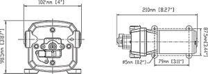 SEAFLO ® Druckwasserpumpe 12,5 Ltr./Min. 12 V – Bild 2
