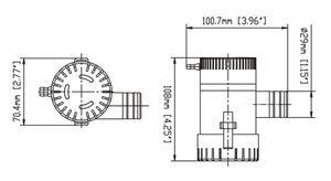 SEAFLO ® Bilgepumpe 1100 - 4164 L/h – Bild 6