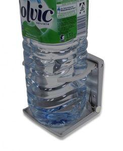 verstellbarer Flaschenhalter Kunststoff grau klappbar – Bild 2