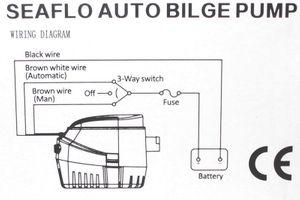 SEAFLO ® Automatik Bilge Pumpe 24V Sahara 600 – Bild 2