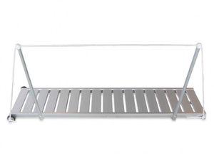 ALU Gangway Superlight 190 cm Antirutsch Oberfläche mit Handlauf – Bild 1