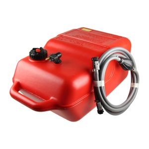 22 Liter Kraftstofftank Big Joe + Yamaha-Anschluss + 3m Kraftstoff-Schlauch mit Pumpball – Bild 1