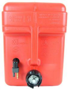 Kraftstofftank mit Füllstandsanzeige 11,3 L mit Mercury u. Mariner-Anschluss – Bild 2