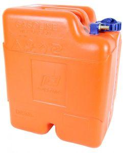 Kraftstofftank 23 L mit Schlauchanschluss 1/4 f. 10 mm – Bild 1