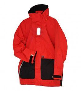Segeljacke XM Coastal Größe L Farbe rot/schwarz
