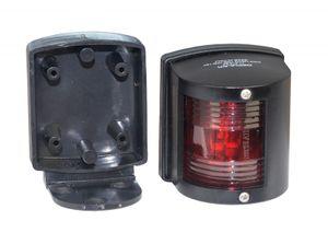 Backbordlaterne Utility 112,5° schwarz zur Deckmontage – Bild 2