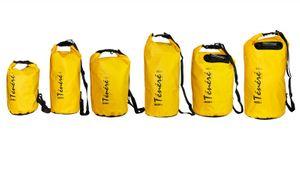 Drybag Ténéré / Seesack 5L wasserdicht Gelb – Bild 2