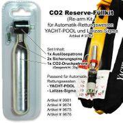 CO2 Reserve-Füllkit / Re-arm Kit für Automatik- Rettungswesten YACHT-POOL und Lalizas-Sigma