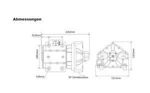 SEAFLO ® Druckwasserpumpe 26,5 Liter – Bild 5