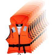 YACHT-POOL Rettungsweste 100N ISO 12402-4, 50 - 90+ kg mit Mengen- und Größenwahl