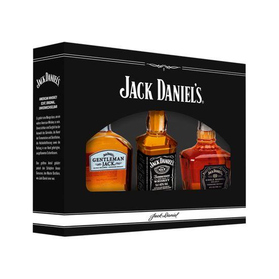 Jack Daniel's Family of Brand (3x 0,05 l) im Geschenk-Set