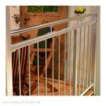 Geländer + Edelstahlhandlauf Bild 2