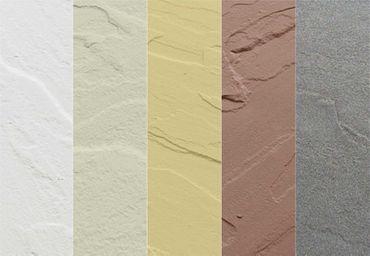 RockTex® Sandstein - SB 405 TERRAKOTTA Muster
