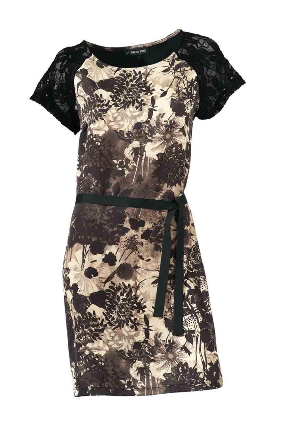 a369ee74e250f9 Patrizia Dini Damen Designer-Kleid mit Spitze