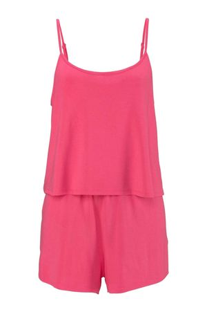Bench Damen Marken-Overall, pink