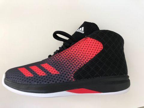 Adidas Court Fury 2016 Herren Basketball Turnschuhe, AQ7752, Schwarz