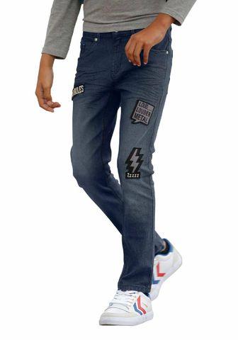 Buffalo Marken-Kinder-Jeans, dunkelblau