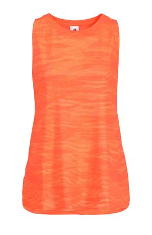 Adidas Damen Marken-Tanktop, orange