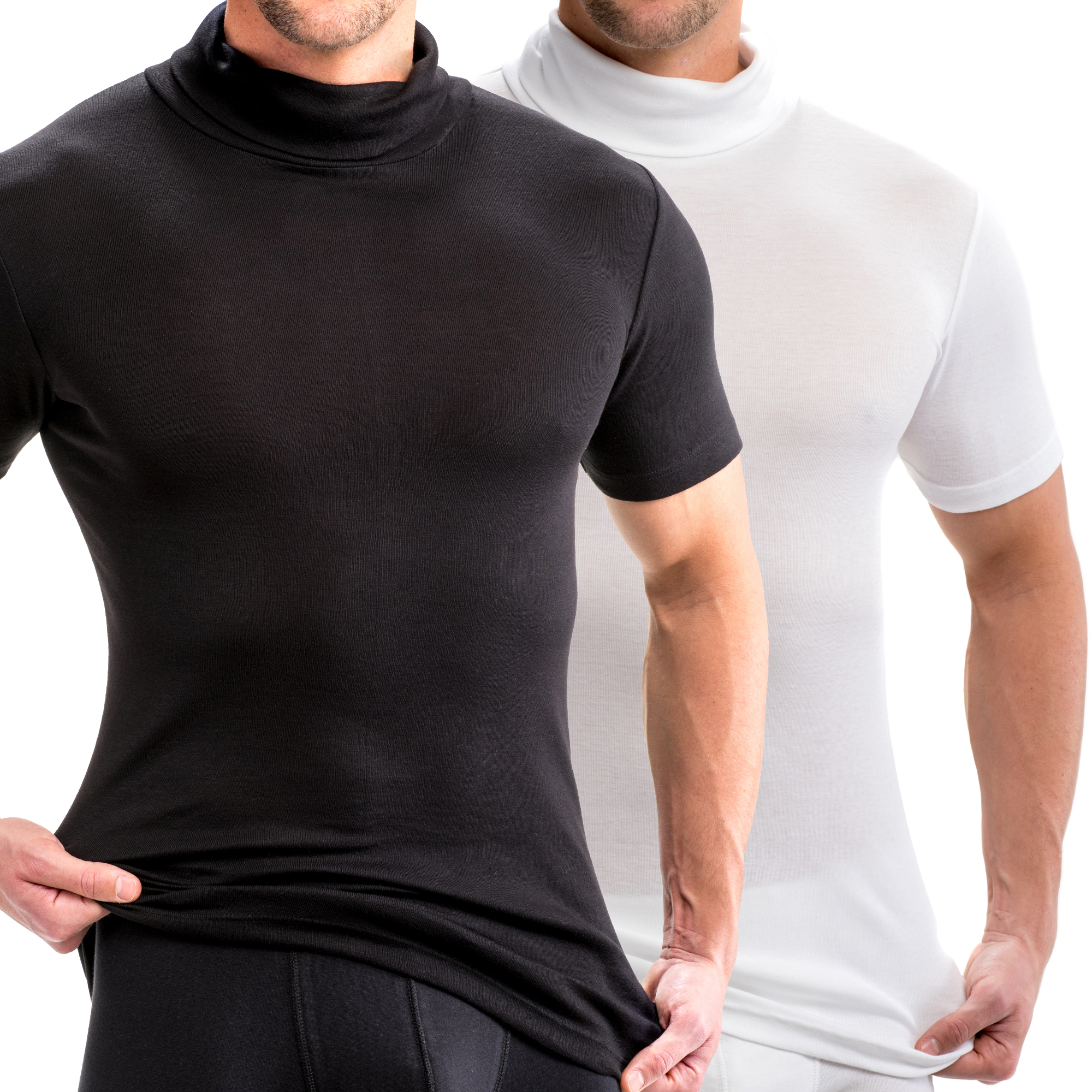Rollkragen-Shirts