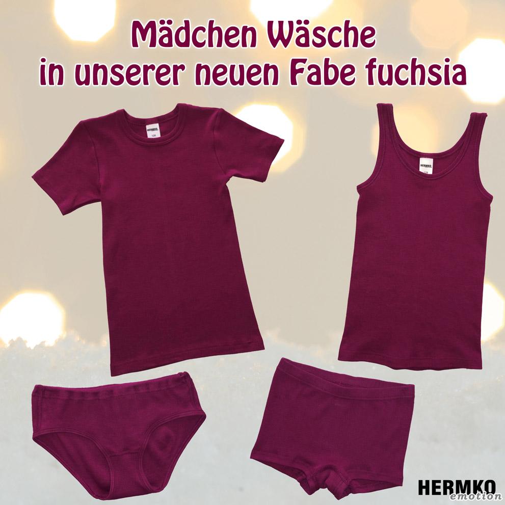 Mädchenwäsche in fuchsia