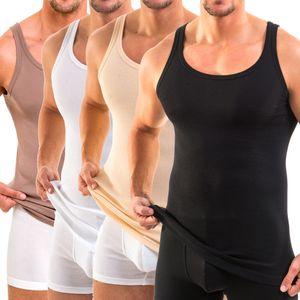 HERMKO 16000 Herren Unterhemd aus weichem Baumwolle / Modal