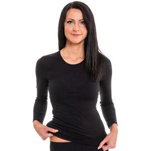 HERMKO 17830 Damen langarm Shirt mit Rundhals-Ausschnitt – Bild 7