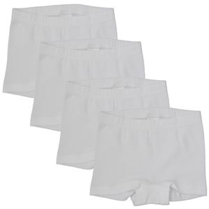 HERMKO 2710 4er Pack Mädchen Pant Panty aus 100% Bio-Baumwolle