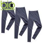 HERMKO 2720 3er Pack Kinder Legging unisex  aus Bio-Baumwolle