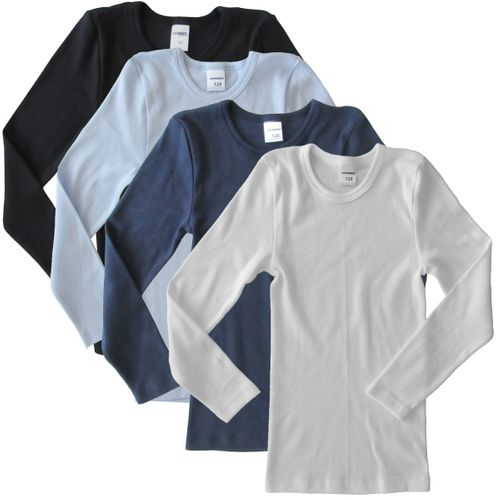 HERMKO 2830 long-sleeved vests for boys/girls (other colours)