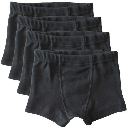 HERMKO 2900 - 4 Pairs of Boy's boxer shorts 100% cotton