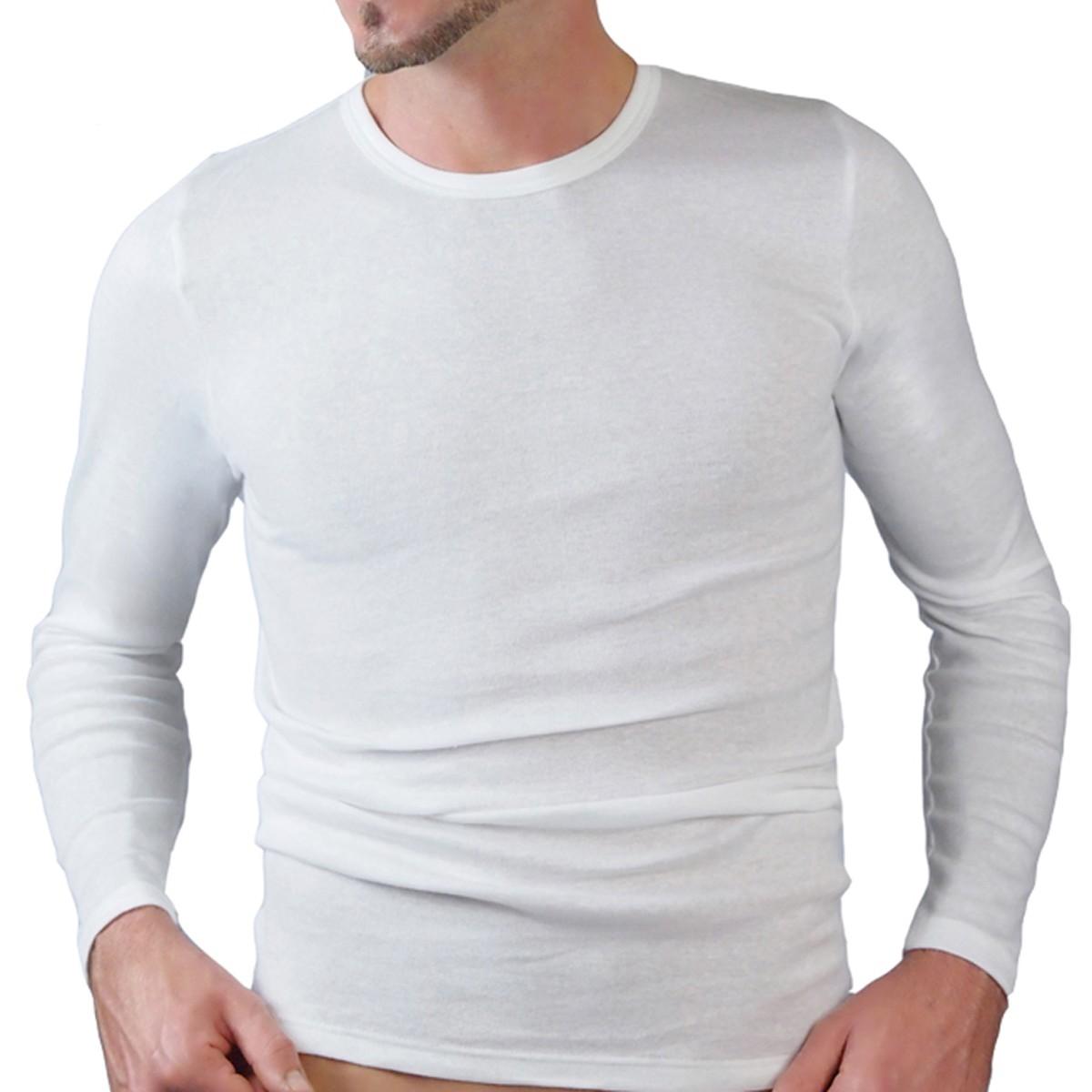 1b4576f8f443 HERMKO 3640 Herren langarm Shirt, Rundhals   HERMKO - Wäsche zum ...