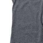 HERMKO 3657005 Men's thermal underpants without flies in a striped ringlet look, made from 67% cotton + 33% polyester