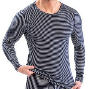HERMKO 3664005 Herren Thermo langarm Shirt, Rundhals