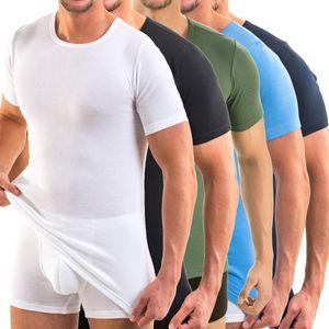 HERMKO 3840 Herren Business Shirt aus Baumwolle, kurzarm Hemd, 1/2-Arm Unterhemd in vielen Farben