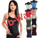 HERMKO 441560 5er Pack Damen Trägerhemd mit kleinen Fehlern aus 100% Bio-Baumwolle