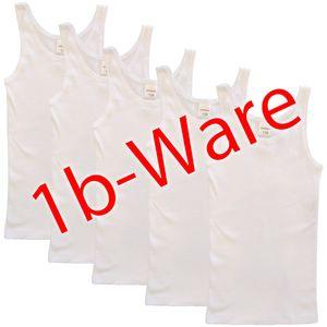5er Pack Mädchen Unterhemd mit kleinen Fehlern – Bild 8