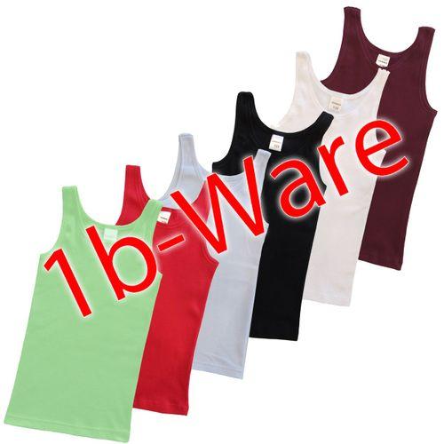 HERMKO 2000  girls' tank top vest in 100% organic cotton, 1b the second sort