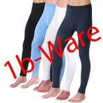 HERMKO 443540 5er Pack Herren lange Unterhosen mit kleinen Fehlern aus 100% Bio-Baumwolle