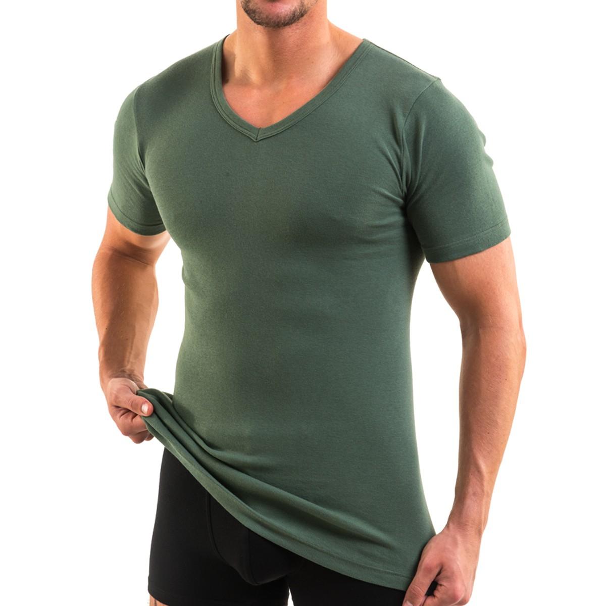 HERMKO 4880 Herren kurzarm Shirt, V-Ausschnitt   HERMKO - Wäsche zum ... 824ccbabe4